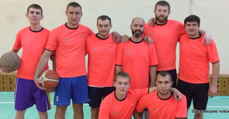 В декабре начался чемпионат Брюховецкого района по баскетболу