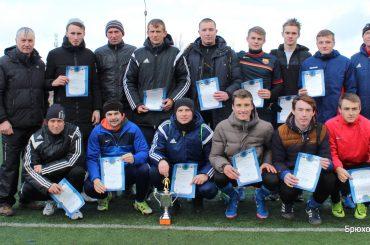 Завершилось Зимнее первенство Брюховецкого района по футболу