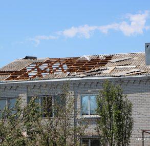 Один человек погиб, трое с травмами. В Брюховецком районе ликвидируют последствия града и сильного ветра