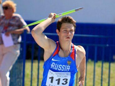 Константин Якубовский завоевал «серебро» Первенства России по легкой атлетике