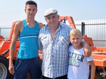 Крестьянско-фермерское хозяйство Михаила Сторчака из Чепигинской стало лучшим по итогам нынешней уборки
