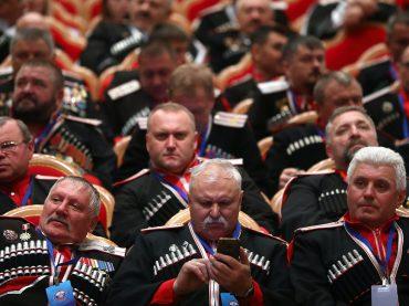 Российские казаки объединились в единое сообщество. В учредительном заседании приняли участие брюховецкие атаманы