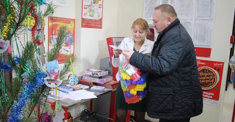 Все желания исполнены: брюховчане приняли участие в акции благотворительного фонда «Край Добра»