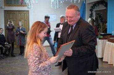 Глава района поздравил одаренных детей