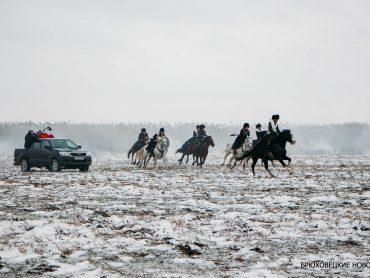 В Брюховецкой прошли первые съемки художественного фильма «Сотня»
