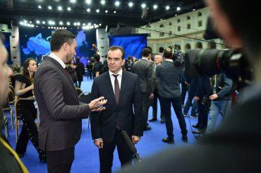 Вениамин Кондратьев: «Сегодня край максимально реализует проекты по поддержке талантливой молодежи»