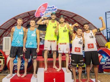 Брюховчане Максим Сиволап и Василий Иванов — призеры мирового тура по пляжному волейболу