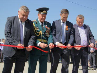 В станице Брюховецкой открыли аллею Чернобыльцев