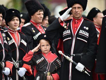 В краевом центре пройдет парад Кубанского казачьего войска