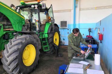 Выпускники агроколледжа впервые сдают демонстрационный экзамен с элементами  WorldSkills Russia