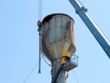 В Переясловской заменят водонапорную башню