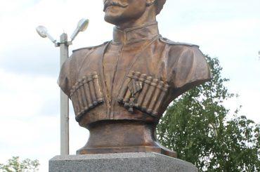 В Переясловской открыли памятник казаку-герою Василию Гамалию