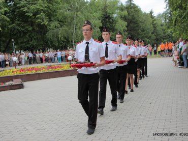 22 июня брюховчане почтили память погибших в годы Великой Отечественной войны