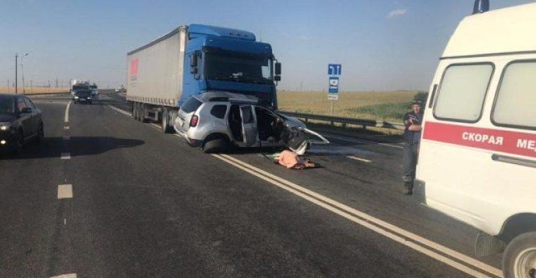 ДТП с летальным исходом на выезде из Брюховецкой