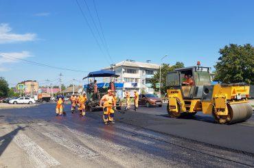 Дороги ремонтируют и прокладывают новые
