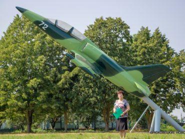 Чепигинские летчики прославляют Кубань. В станице установлен военный планер