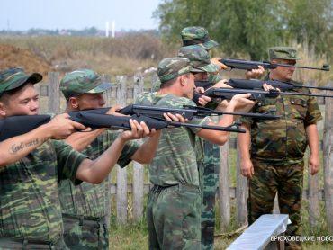 Патриотами не рождаются, а становятся: в Брюховецкой прошли учебно-полевые сборы