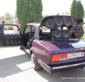 Дайте шума: в Брюховецкой прошел первый фестиваль автозвука