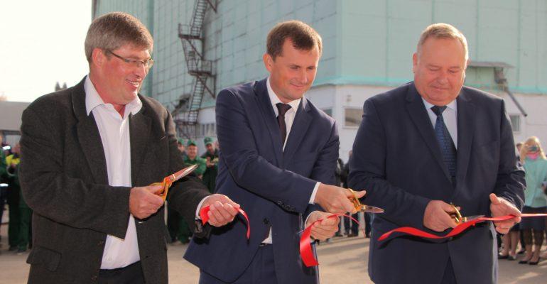 Вице-губернатор Андрей Коробка дал старт новому цеху премиксов в Брюховецкой