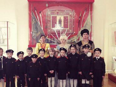 На Кубани для юных казаков организовали исторические экскурсии