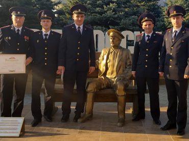 Брюховецкие участковые отмечены благодарностями губернатора Кубани