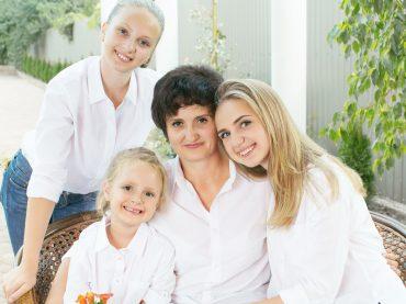 Бизнес-леди — мама трех дочерей