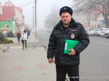Лучшим участковым Кубани стал переясловец Сергей Пожаров