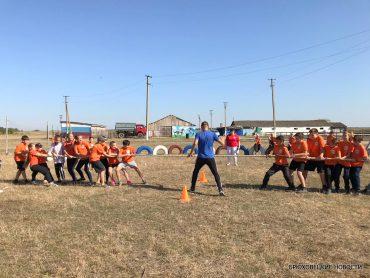 День Здоровья для учащихся второй школы прошёл на Казачьем острове