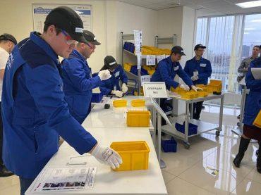 Губернатор Кубани осмотрел «Фабрику процессов», созданную по нацпроекту