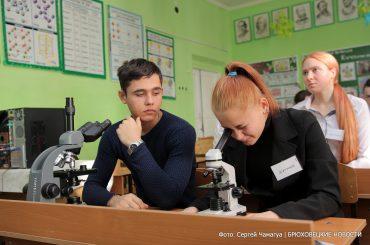 Новый агрокласс и спортзал: в школе села Свободного большие преобразования