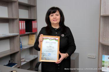 Татьяна Теркун из села Свободного стала лучшим предпринимателем Брюховецкого района