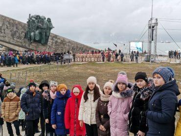 Наши юные географы приняли участие в «Бескозырке — 2020»