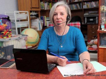 Брюховчанка Ольга Спицына в рамках проекта МыВместе помогает всей России