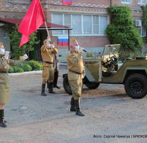 Брюховчане со всей Россией исполнили песню «День Победы»