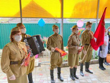 С 75-й годовщиной Великой Победы: Брюховецкая поздравила своих героев
