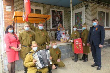Празднуем День Великой Победы: Переясловская поздравляет своих героев