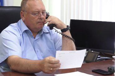 На прямой линии с Владимиром Мусатовым: глава района ответил на вопросы брюховчан