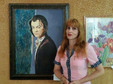 Первая выставка художницы-авангардистки