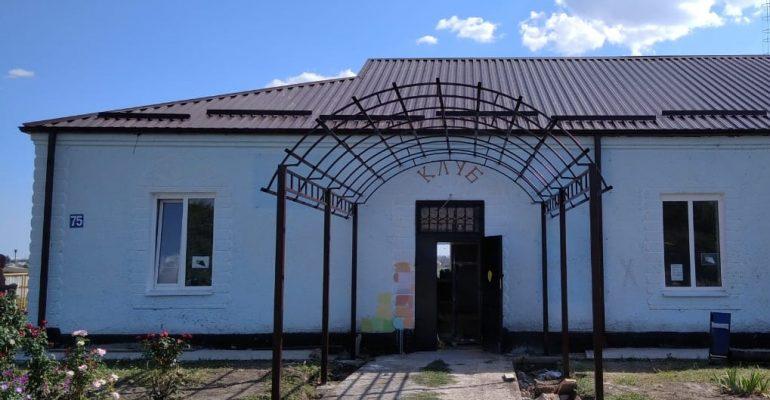 В Новом Селе дом культуры готовится к новоселью