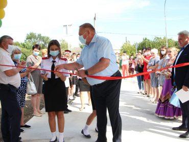 В Новом Селе торжественно открыли обновленный дом культуры