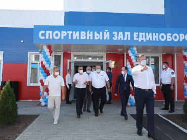 Губернатор Кубани открыл в Брюховецкой первый центр единоборств