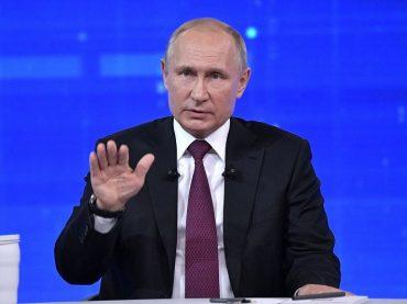 В 2020 году прямая линия с Путиным проводиться не будет