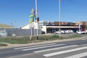 В Брюховецкой на перекрестке улиц Димитрова и Олега Кошевого установили светофор