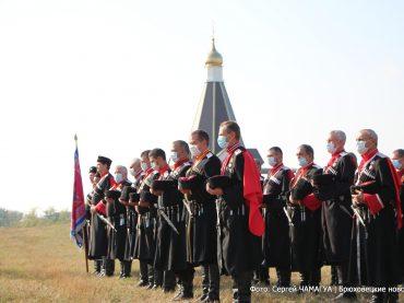Брюховецкие казаки отметили 324-ю годовщину образования Кубанского казачьего войска