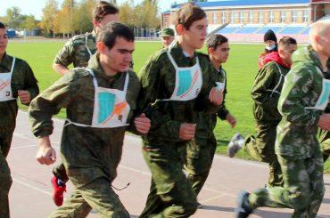 Допризывники БМТ заняли третье место в краевом легкоатлетическом кроссе