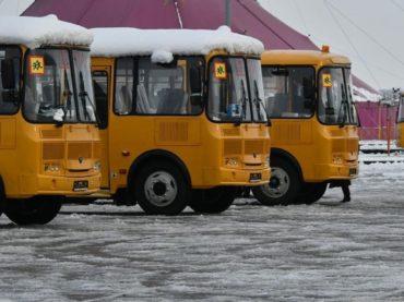 Брюховецкий район получил 4 новых школьных автобуса