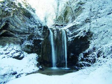 Печальная история любви или как появились на свет Тенгинские водопады